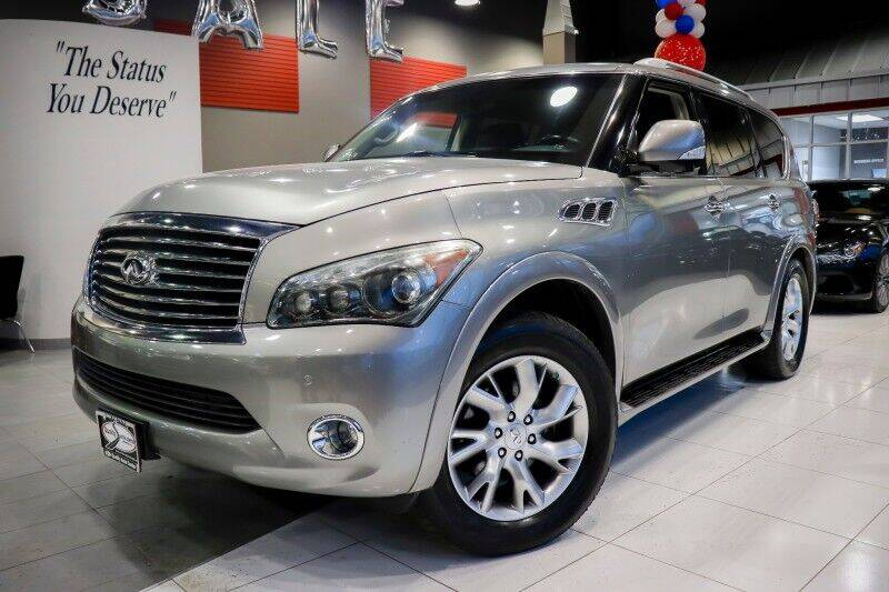 2012 Infiniti QX56 for sale at Quality Auto Center of Springfield in Springfield NJ