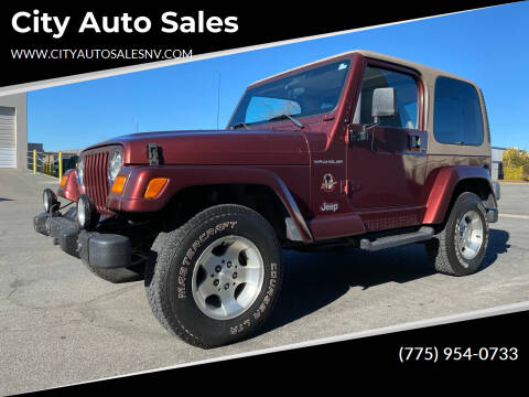 2002 Jeep Wrangler for sale at City Auto Sales in Sparks NV