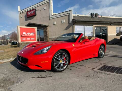 2011 Ferrari California for sale at PLANET AUTO SALES in Lindon UT