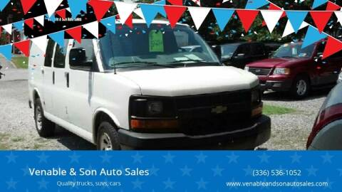 2014 Chevrolet Express Cargo for sale at Venable & Son Auto Sales in Walnut Cove NC