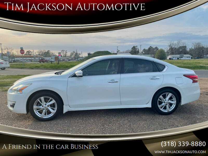 2013 Nissan Altima for sale at Tim Jackson Automotive in Jonesville LA