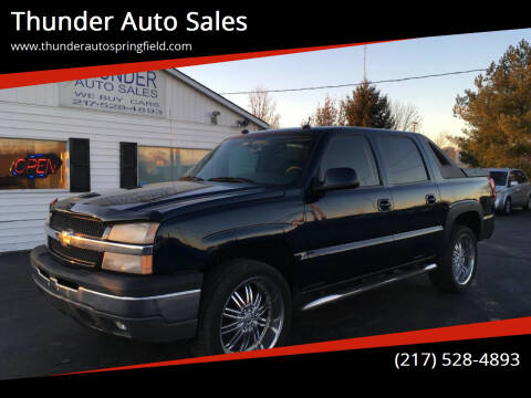 2005 Chevrolet Avalanche for sale at Thunder Auto Sales in Springfield IL