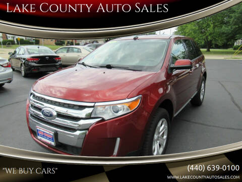 2014 Ford Edge for sale at Lake County Auto Sales in Painesville OH
