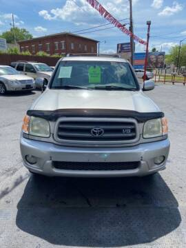 2004 Toyota Sequoia for sale at North Hill Auto Sales in Akron OH