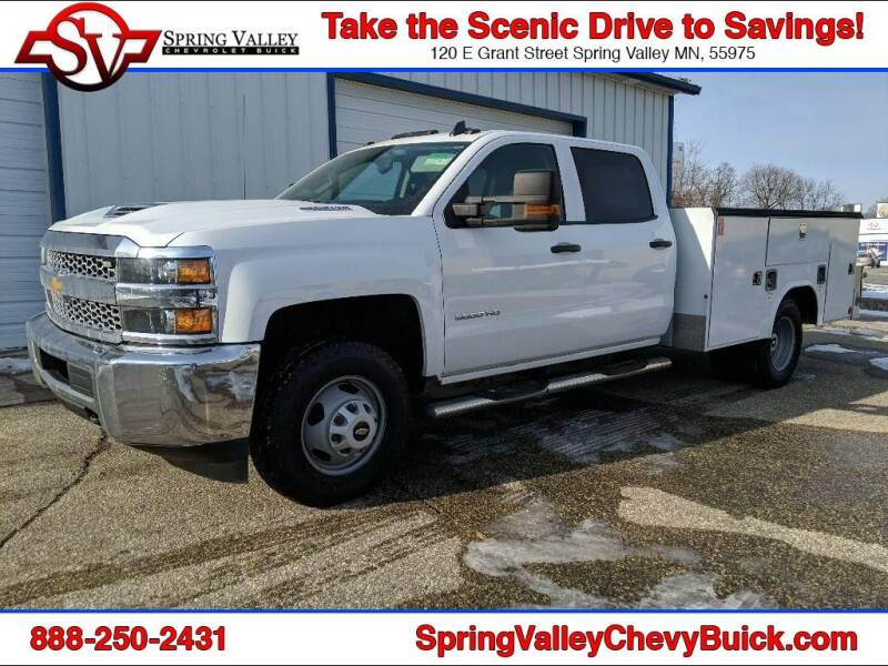 2019 Chevrolet Silverado 3500HD CC for sale at Spring Valley Chevrolet Buick in Spring Valley MN