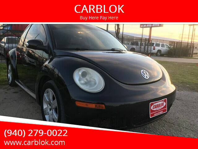 2007 Volkswagen New Beetle for sale at CARBLOK in Lewisville TX