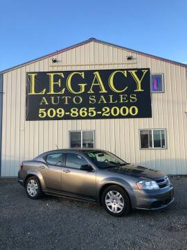 2013 Dodge Avenger for sale at Legacy Auto Sales in Toppenish WA