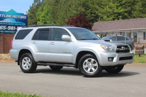 2007 Toyota 4Runner for sale at Skyline Motors in Louisville TN