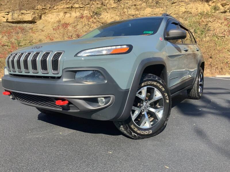 2014 Jeep Cherokee for sale at Bailey's Pre-Owned Autos in Anmoore WV