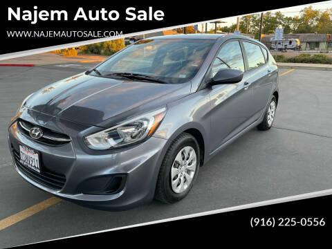 2016 Hyundai Accent for sale at Najem Auto Sale in Sacramento CA