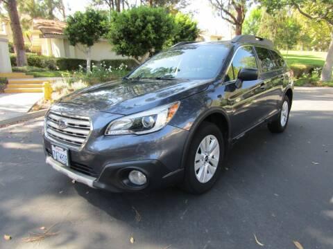2017 Subaru Outback for sale at E MOTORCARS in Fullerton CA