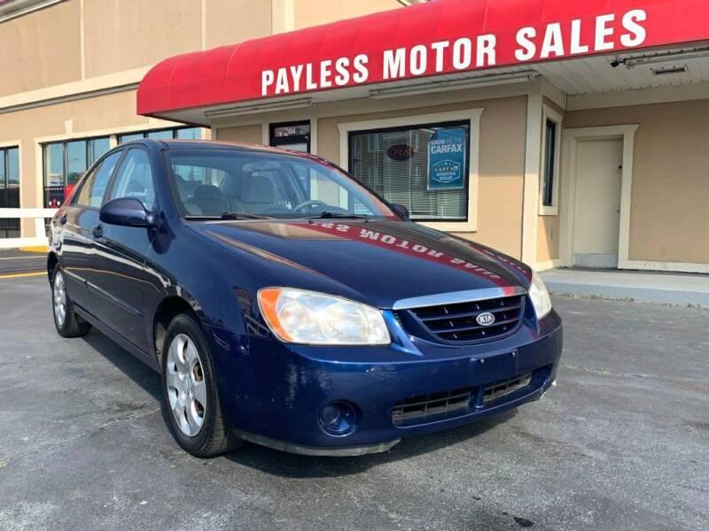 2006 Kia Spectra for sale at Payless Motor Sales LLC in Burlington NC