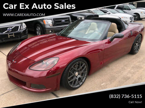 2006 Chevrolet Corvette for sale at Car Ex Auto Sales in Houston TX