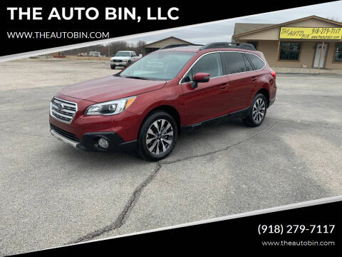 2017 Subaru Outback for sale at THE AUTO BIN, LLC in Broken Arrow OK