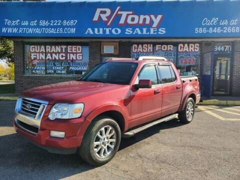 2007 Ford Explorer Sport Trac for sale at R Tony Auto Sales in Clinton Township MI