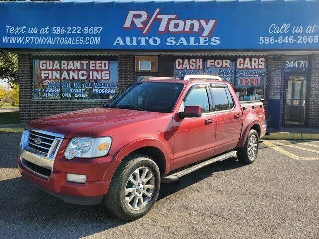 2007 Ford Explorer Sport Trac for sale at R Tony Auto Sales in Clinton Township MI
