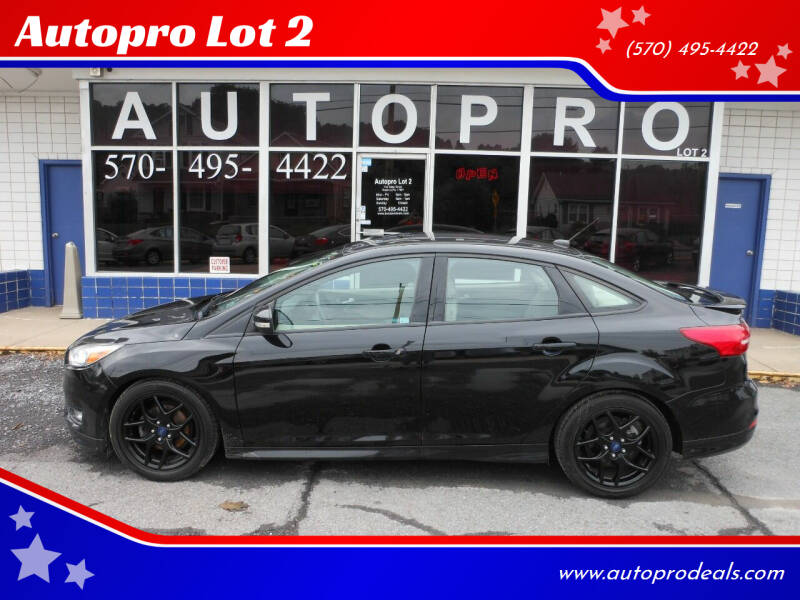 2016 Ford Focus for sale at Autopro Lot 2 in Sunbury PA