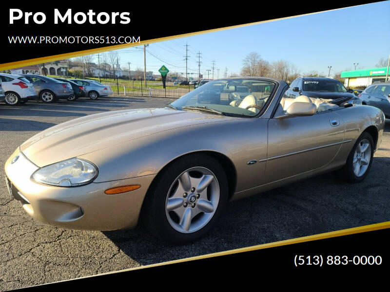 1998 Jaguar XK-Series for sale at Pro Motors in Fairfield OH