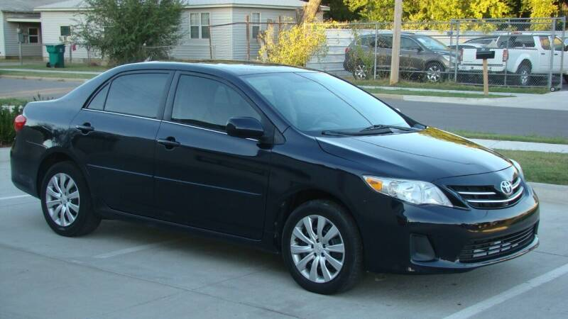 2013 Toyota Corolla for sale at Red Rock Auto LLC in Oklahoma City OK