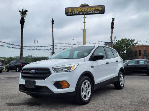 2017 Ford Escape for sale at A MOTORS SALES AND FINANCE - 5630 San Pedro Ave in San Antonio TX
