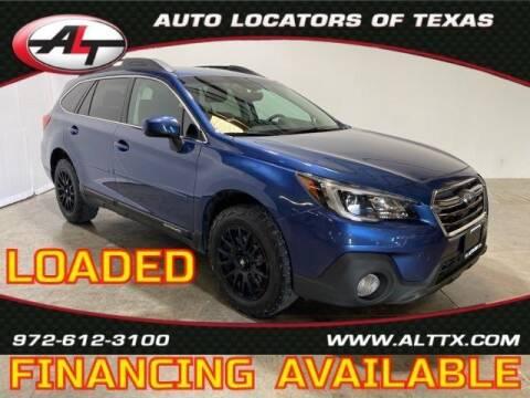 2019 Subaru Outback for sale at AUTO LOCATORS OF TEXAS in Plano TX