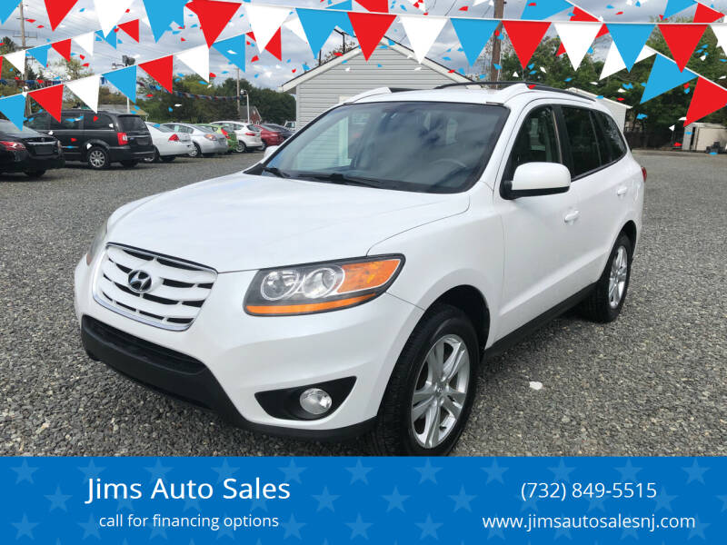 2011 Hyundai Santa Fe for sale at Jims Auto Sales in Lakehurst NJ