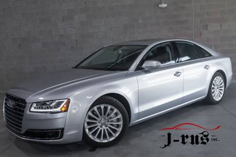 2017 Audi A8 L for sale at J-Rus Inc. in Macomb MI