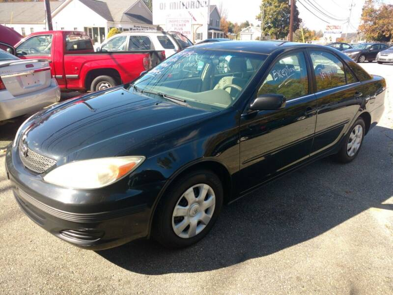 2003 Toyota Camry for sale at Auto Brokers of Milford in Milford NH