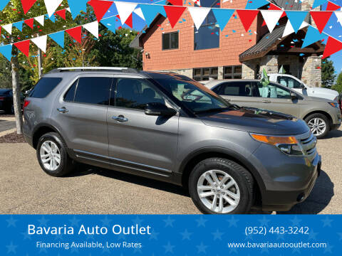 2013 Ford Explorer for sale at Bavaria Auto Outlet in Victoria MN