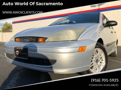 2003 Ford Focus for sale at Auto World of Sacramento Stockton Blvd in Sacramento CA