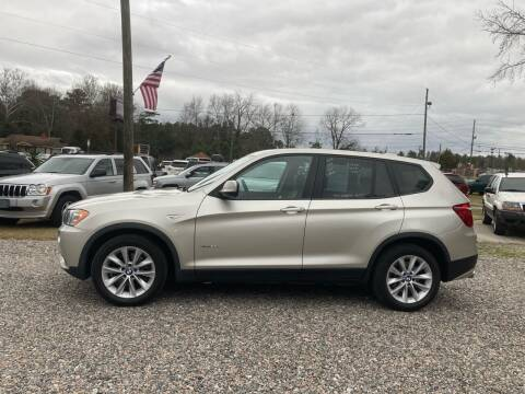 2013 BMW X3 for sale at Joye & Company INC, in Augusta GA
