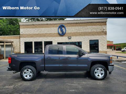 2014 Chevrolet Silverado 1500 for sale at Wilborn Motor Co in Fort Worth TX
