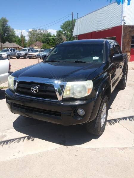 2007 Toyota Tacoma for sale at PYRAMID MOTORS AUTO SALES in Florence CO