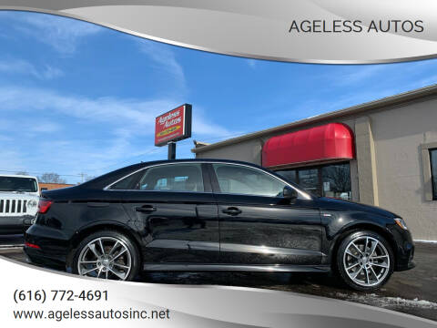 2017 Audi A3 for sale at Ageless Autos in Zeeland MI