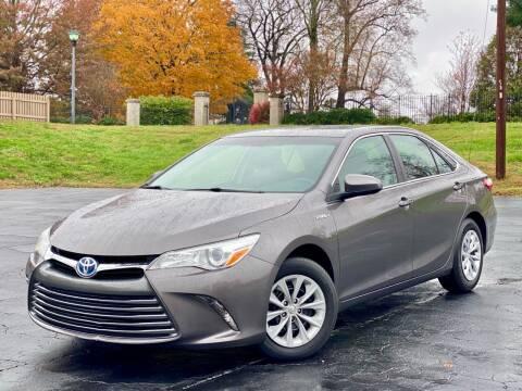 2016 Toyota Camry Hybrid for sale at Sebar Inc. in Greensboro NC