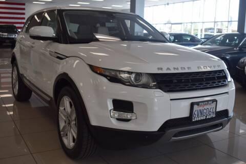 2012 Land Rover Range Rover Evoque for sale at Legend Auto in Sacramento CA