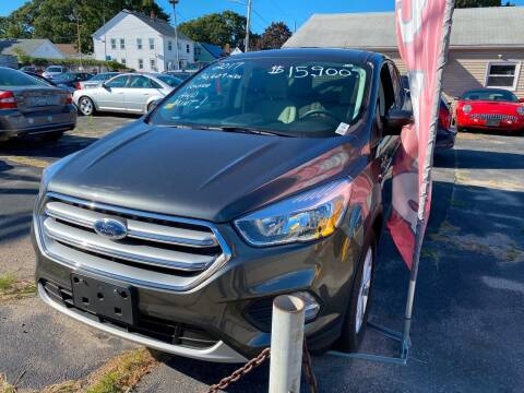 2017 Ford Escape for sale at Volare Motors in Cranston RI