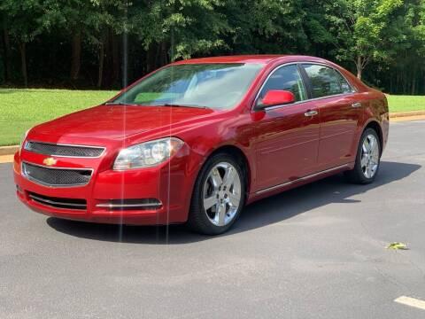 2012 Chevrolet Malibu for sale at Top Notch Luxury Motors in Decatur GA