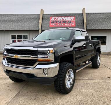 2016 Chevrolet Silverado 1500 for sale at Stephen Motor Sales LLC in Caldwell OH