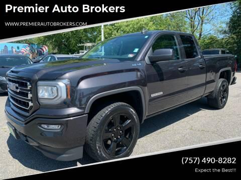 2016 GMC Sierra 1500 for sale at Premier Auto Brokers in Virginia Beach VA