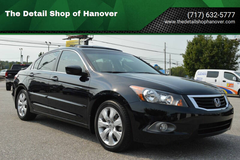2008 Honda Accord for sale at The Detail Shop of Hanover in New Oxford PA