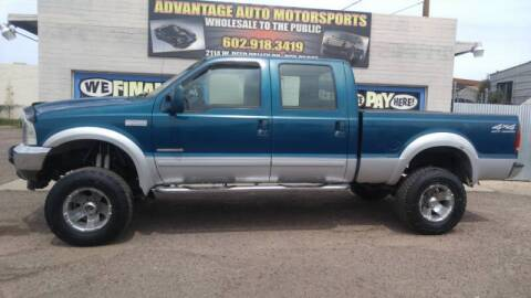 2001 Ford F-250 Super Duty for sale at Advantage Motorsports Plus in Phoenix AZ