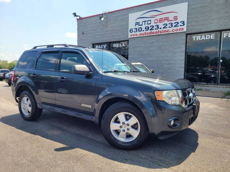 2008 Ford Escape for sale at Auto Deals in Roselle IL