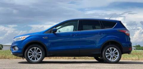 2017 Ford Escape for sale at Palmer Auto Sales in Rosenberg TX