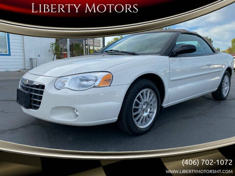 2004 Chrysler Sebring for sale at Liberty Motors in Billings MT
