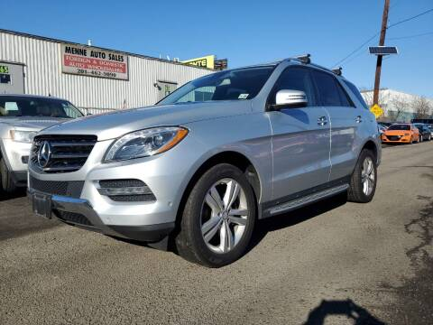 2013 Mercedes-Benz M-Class for sale at MENNE AUTO SALES in Hasbrouck Heights NJ