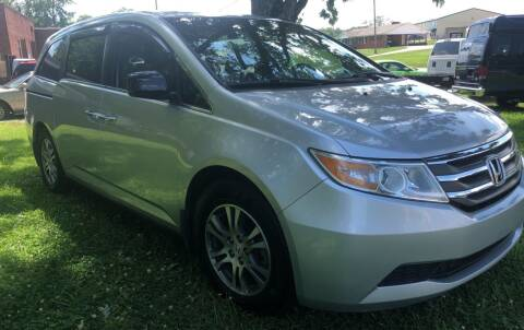 2011 Honda Odyssey for sale at Creekside Automotive in Lexington NC