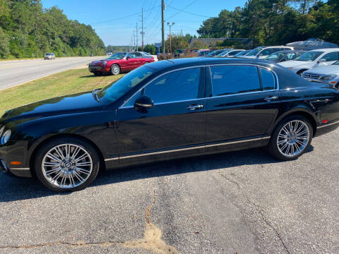 2013 Bentley Continental for sale at TOP OF THE LINE AUTO SALES in Fayetteville NC