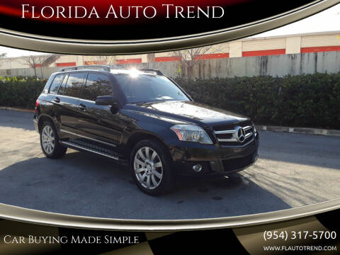 2010 Mercedes-Benz GLK for sale at Florida Auto Trend in Plantation FL