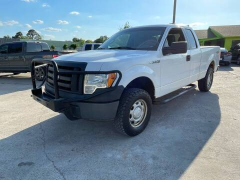 2011 Ford F-150 for sale at RODRIGUEZ MOTORS CO. in Houston TX